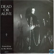 """DEAD OR ALIVE SOMETHING IN MY HOUSE / DJ HIT THAT BU.. dutch 7"""" 45T EPC 650313 7"""