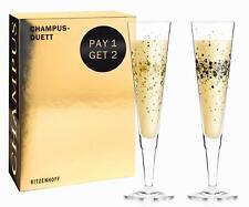 2er Set Ritzenhoff CHAMPUS Champagnergläser by Ramona Rosenkranz 2020