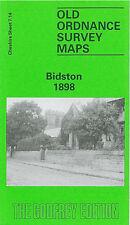 OLD ORDNANCE SURVEY MAP BIDSTON WALLASSEY POOL ILCHESTER ROAD REEDS FARM 1898