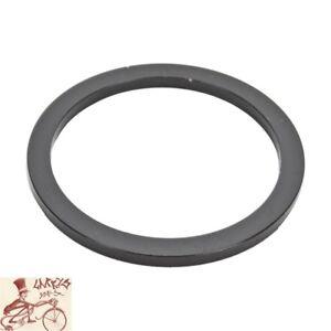 "ORIGIN8 ALLOY 3mm x 1-1/8"" BLACK BICYCLE HEADSET SPACERS--BAG OF 60"