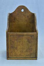 Salt Box In Antique Wooden Bo