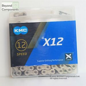 KMC X12 12 Speed Chain MTB Road Bike Chain 128 links Retail Box