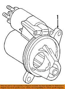6L2Z11002C Ford Starter motor 6L2Z11002C