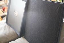 """Auralex 1x24x24"""" SonoLite Panel (2/1), Black, Trap, Acoustical, trap, bass"""