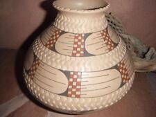 Mata Ortiz Potter DORA QUEZADA POT Polychrome Fine Pottery Ollas 7.5X8.5 Vintage