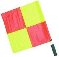 V3Tec Fußball Linienrichterfahnen gelb rot