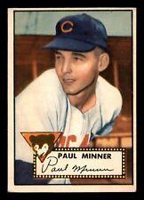 PAUL MINNER 52 TOPPS 1952 NO 127 VGEX+  20228
