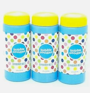 BIG LOT of THREE 2oz HTF Gymboree Bubble Ooodles Refill 6 oz Total Refill 💙💛💙