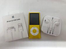 Apple iPod nano 4th Generation Yellow (16 Gb), Mint Condition!