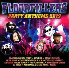 FLOORFILLERS - PARTY ANTHEMS 2012 / VARIOUS ARTISTS - 2 CD SET-KATY PERRY-KYLIE