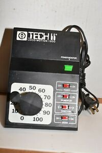 MRC Tech II Loco Motion 1500 Hobby Transformer Train Control TESTED WORKS