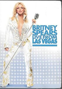 BRITNEY SPEARS LIVE FROM LAS VEGAS DVD W/ Free Shipping