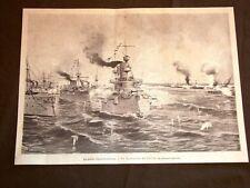 Guerra Ispanico - Americana nel 1898 Battaglia di Cavite + Salma Benedetto Brin