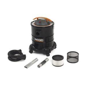RIDGID Portable Canister Shop Vacuum 7.6-Amp Corded Hose Cartridge Filter Black