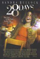 28 DAYS MOVIE POSTER ~ ORIGINAL 27x40 Sandra Bullock