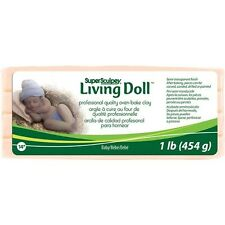 Polyform Super Sculpey Living Doll Clay 1 Pound - 213777
