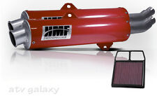 HMF Can Am BRP Commander 800 2011 2012 2013 Red Dual Slip On Exhaust K&N Filter