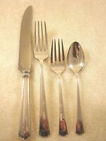 Modern American by Lunt Sterling Silver Dinner Size Place Setting(s) 4pc