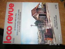 Loco Revue n°476 Rampe chargement CC14100 Trelaze 030 + 030 T VOIE  2D2 9100