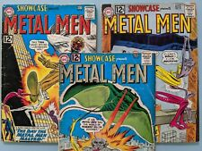 Showcase:  Lot of 3 (37, 39, and 40) featuring Metal Men;  First Appearance
