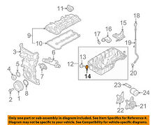 SUZUKI OEM 99-08 Grand Vitara Engine Parts-Drain Plug Gasket 0916814015