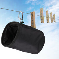 WATERPROOF PEGS BAG CLOTHES LAUNDRY PIN CLIPS STORAGE WASHING LINE HOOKS HOLDER