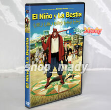 The Boy and The Beast - El Niño y la Bestia DVD ESPAÑOL LATINO
