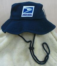 USPS Postal Service Navy Boonie/Safari/Bush Hat  Stonewashed cotton