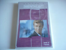 DVD NEUF - MENTALIST / DVD 3 - SAISON 1 / 4 EPISODES