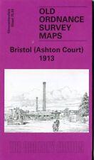 DETAILED ORDNANCE SURVEY MAP BRISTOL (ASHTON COURT) 1913 FREE UK P&P