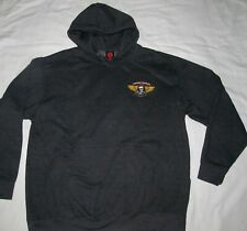 Powell Peralta Skateboard Ripper Dark Gray Pullover Hoodie Mens Size Extra Large