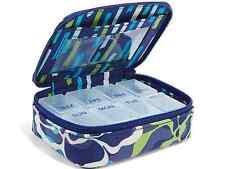 NWT Vera Bradley Travel Pill Case Pill box in Katalina Blues 13523 295 BC
