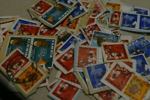 138 Zambia (Africa) used postage stamps philately postal mail Philatelic