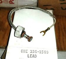 336-1569 ONAN FITS MCCK LEAD, SHIELDED, (COIL TO BREAKER BOX)  New Old stock