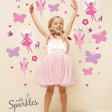 Kids Removable Vinyl Wall Stickers for Girl -- Ballet Dancing