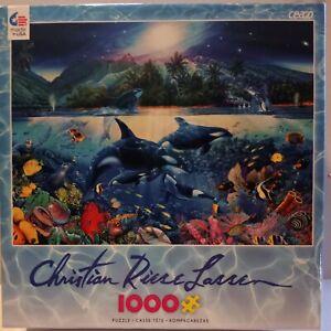 "Jigsaw Puzzle 1000 Piece Christian Riese Lassen New Unopened. ""Majestic Kingdom"""