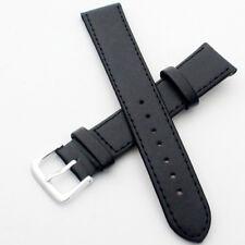 16/18/20/22mm Leder schwarz braun UHRENARMBAND Uhrband Uhrenband Damen Herren