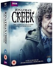 JONATHAN CREEK (1987-2016) COMPLETE TV SERIES SEASONS + SPECIALS  NEW DVD Set UK