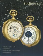 SOTHEBY'S GENEVA YELLOW GOLD CALIBRE 89 PATEK Most Complicated Watch Catalog 17
