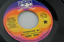 Johnny Adams: Reconsider Me / If I Could See You One More Time  [Unplayed Copy]