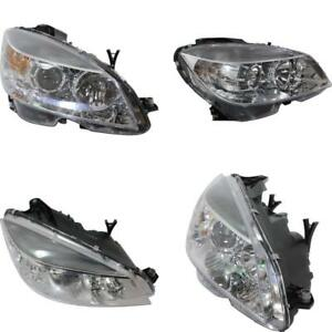 MB2502163C Headlight for 08-11 Mercedes-Benz C350 CAPA Driver Side