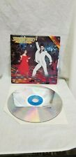 """Saturday Night Fever Extended Play on 12"""" Laserdisc"""