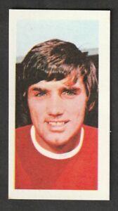 BARRATT Confectionary Soccer  Stars FOOTBALL George Best Manchester United