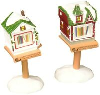 Little Free Libraries Dept 56 Village Accessories 4057578 Christmas city snow Z