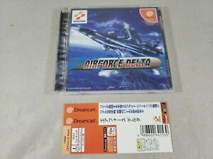 Air Force Delta AIRFORCE SEGA Dreamcast DC Japan Import US Seller - Tested