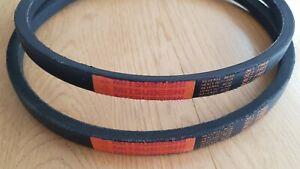2 Genuine Mitsuboshi PTO Belts For Kubota G23 Replaces P/N K2053-15643