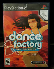 DANCE FACTORY - Dance to Any Music CD PS2 2006 FREE Shipping!