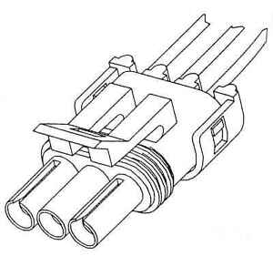 Manifold Absolute Pressure Sensor Connector-FI Tomco 24018