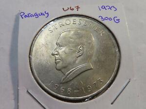 W67 Paraguay 1973 300 Guaranies