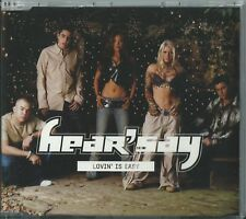 HEAR'SAY - LOVIN' IS EASY / PURE AND SIMPLE 2002 EU 3 TRACK ENHANCED CD SINGLE
